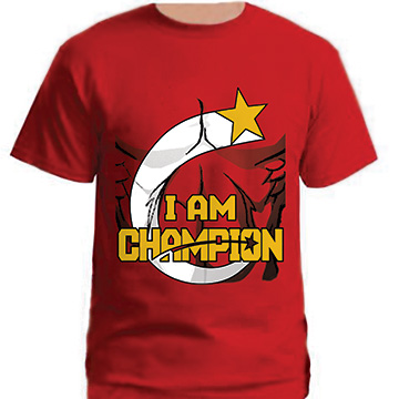Michael Midas Champion I AM CHAMPION t-shirt
